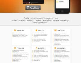 xrevolation tarafından Build and Re-Design our iPhone App Website (www.mybooklet.co) için no 17