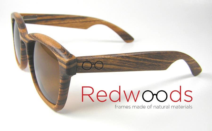 Bài tham dự cuộc thi #137 cho Design a Logo for a Wooden Sunglasses company
