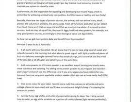 JSRego tarafından Article about ways to get more protein için no 7