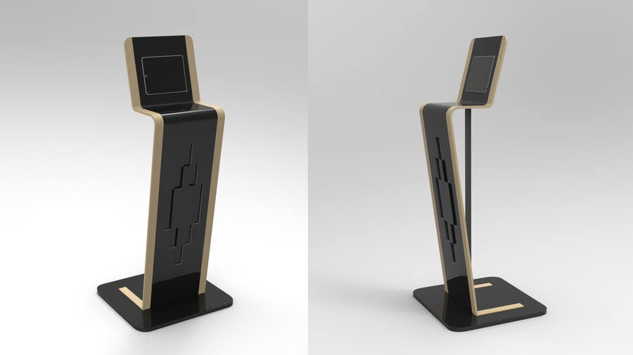Entry #22 by Groupmater for 3d modeling Ipad Information Point