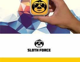 Logozavr tarafından [Game Studio Logo] Sloth with aviator sunglasses with SLOTH FORCE written below için no 30