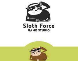 martinaobertova tarafından [Game Studio Logo] Sloth with aviator sunglasses with SLOTH FORCE written below için no 46