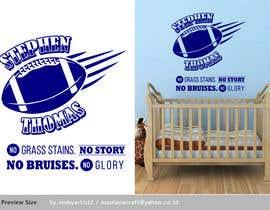 mobyartist2 tarafından Baby Nursery Wall Sticker Design için no 29