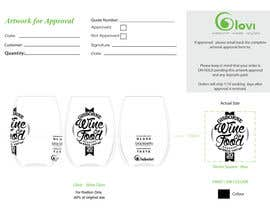nymphalim tarafından Put client logo on a AI or PSD template of our cups. için no 3