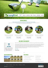 #8 for Design a Website Mockup for swingR golf by kreativeminds