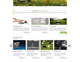 #5 for Design a Website Mockup for swingR golf by yuva33raaj