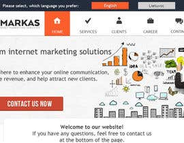 #22 for Website Design for a Internet Marketing Company by MetaC
