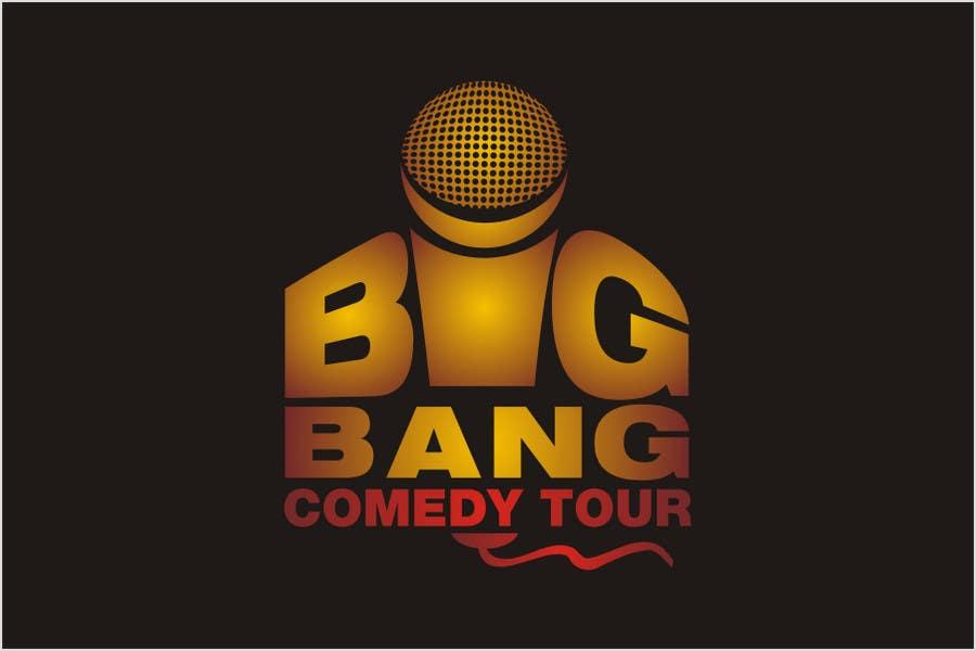 Inscrição nº                                         296                                      do Concurso para                                         Logo Design for Big Bang Comedy Tour