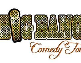 manikmoon tarafından Logo Design for Big Bang Comedy Tour için no 217