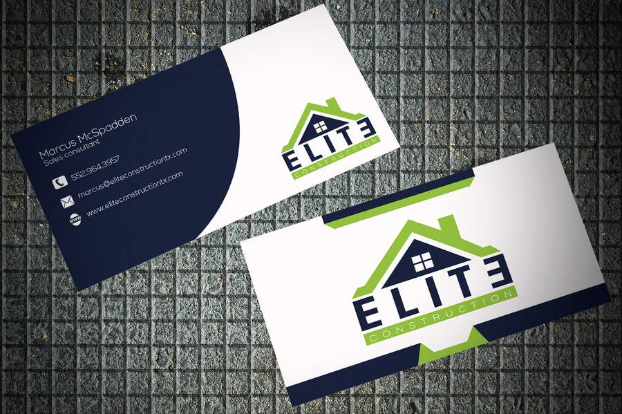 Entry 31 by tufiq for design some business cards for construction contest entry 31 for design some business cards for construction company reheart Gallery