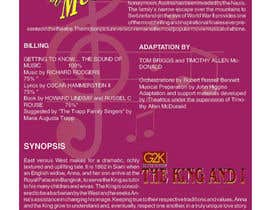 #4 para Design a Brochure for our G2K Musicals por gianory