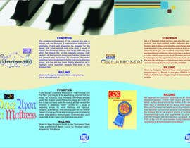 #6 para Design a Brochure for our G2K Musicals por rajeevsukhija1