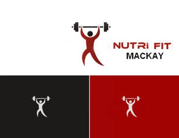 cristinandrei tarafından Nutri Fit Mackay logo design required (nutrition & fitness) için no 3