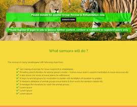 rajbevin tarafından Simple Wordpress Landing Page for future app için no 5