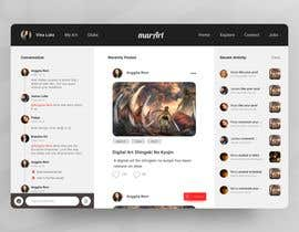Nro 34 kilpailuun Design a Homepage (1 page only) mockup. käyttäjältä priyatama02