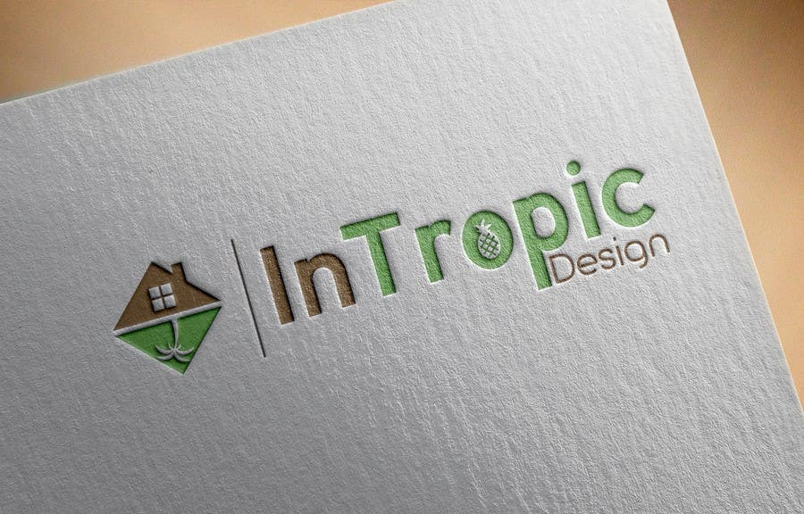 Contest Entry #142 for Design a logo for my start up interior design business InTropic & Entry #142 by Pierro52 for Design a logo for my start up interior ...