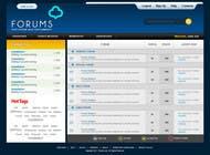 Graphic Design Contest Entry #39 for Website Design for Forums.com