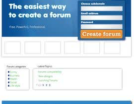 #1 per Website Design for Forums.com da skynetweb