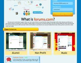 #4 dla Website Design for Forums.com przez AtrumLevis