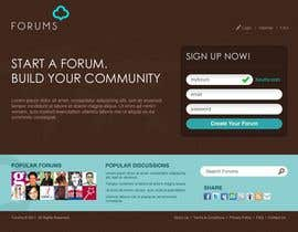 #27 , Website Design for Forums.com 来自 pricool