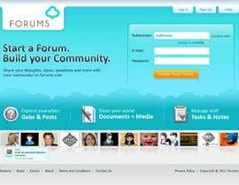 #11 dla Website Design for Forums.com przez rajranjan12