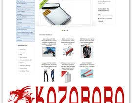 #106 para Logo Design for kazababa por ROCCO965