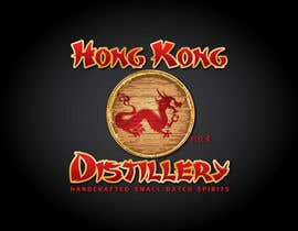 #361 untuk Logo Design for Hong Kong distillery - repost due to Wasabesprite not completing design and disappearing oleh GeorgeOrf