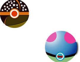 #8 for Design a custom Pokeball (Logo) by bdLogomaker007