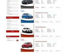 Mahesh2016 tarafından Re-design 2 website landing pages (Netcars Search page) için no 40
