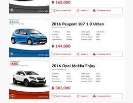 webmastersud tarafından Re-design 2 website landing pages (Netcars Search page) için no 17
