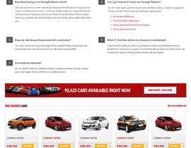 omwebdeveloper tarafından Re-design 2 landing pages on a website (Netcars About & FAQ) için no 35