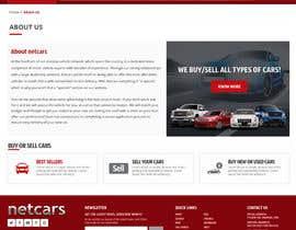 omwebdeveloper tarafından Re-design 2 landing pages on a website (Netcars About & FAQ) için no 45