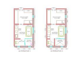 samanishu12 tarafından Design a bathroom layout için no 12