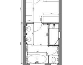 LoredanaBejerita tarafından Design a bathroom layout için no 26