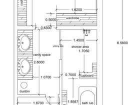 SuryaAlvin tarafından Design a bathroom layout için no 20