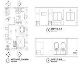 golfredofortul tarafından Design a bathroom layout için no 23