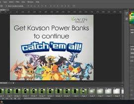 firmankurnialloh tarafından Social Media Ad for selling Power banks focused around Pokemon için no 12