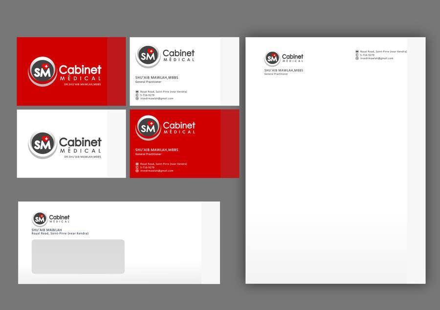 Kilpailutyö #3 kilpailussa Develop a Corporate Identity for Cabinet Medical Private