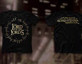 roeldamisel tarafından Design a T-Shirt - The Lord of the Ring Style için no 74