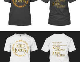 ArifBPS tarafından Design a T-Shirt - The Lord of the Ring Style için no 86
