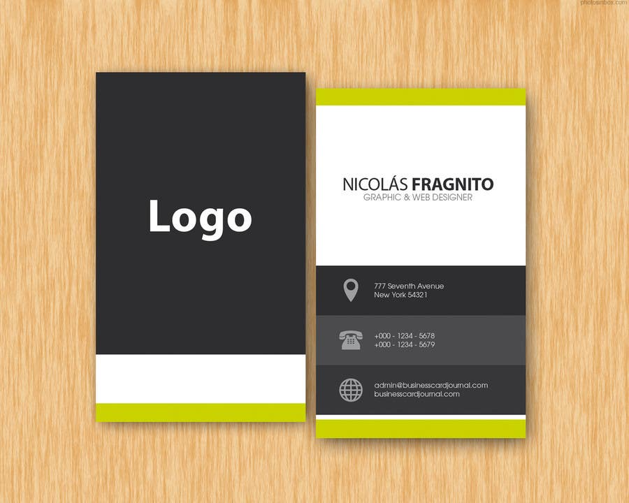 Proposition n°3 du concours Design Some Business Cards