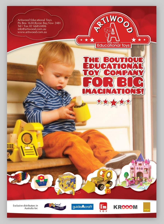 Inscrição nº                                         72                                      do Concurso para                                         Advertisement Design for Artiwood Educational Toys (A4)