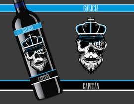 #70 para Galicia Captain (Spanish Wine) - Capitán Galicia (Vino Español) de eliartdesigns