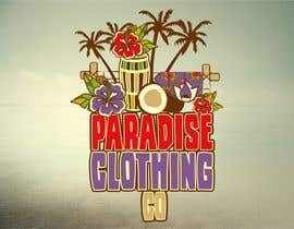 #88 para Design a Logo for Paradise Clothing Co por salutyte
