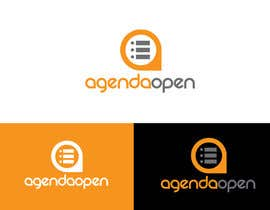 nº 240 pour Logo for Agenda Open par mamunfaruk