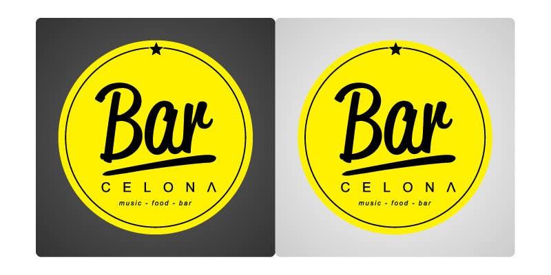 #3 for Design a Logo for a new BAR by madewisnu
