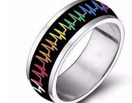 waqastariq01 tarafından Create a Rainbow EKG/wave Spinner Ring için no 14