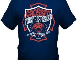 #15 for Design a T-Shirt for CrossFit First Responder (EMT, Fire, Police) af bacujkov