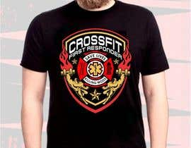 #19 for Design a T-Shirt for CrossFit First Responder (EMT, Fire, Police) af lanangali