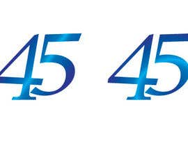 #13 for Logo design for the 45th anniversary banquet af Raoulgc